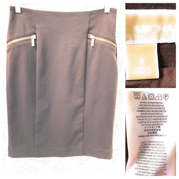 MICHAEL Michael Kors Skirt Brown